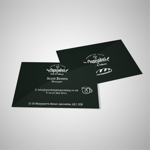 Quick digital printing cheap online printers based in leicester premium matt laminated business cards reheart Images