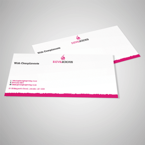Quick digital printing cheap online printers based in leicester standard compliment slips reheart Images