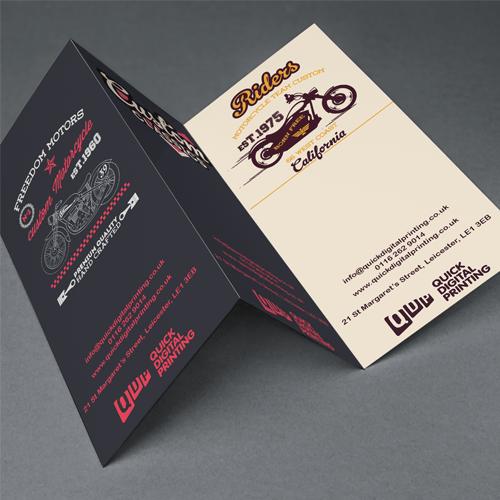 Folded leaflets reheart Choice Image